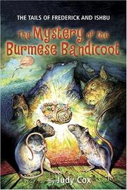Book Cover for THE MYSTERY OF THE BURMESE BANDICOOT