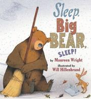 SLEEP, BIG BEAR, SLEEP! by Maureen Wright