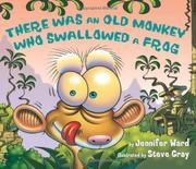 Cover art for THERE WAS AN OLD MONKEY WHO SWALLOWED A FROG