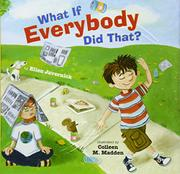 Book Cover for WHAT IF EVERYBODY DID THAT?