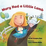 Book Cover for MARY HAD A LITTLE LAMB