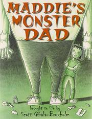 Book Cover for MADDIE'S MONSTER DAD