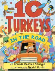 10 TURKEYS IN THE ROAD by Brenda Reeves Sturgis