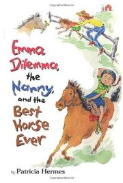 Cover art for EMMA DILEMMA, THE NANNY, AND THE BEST HORSE EVER