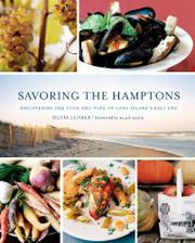 Cover art for SAVORING THE HAMPTONS