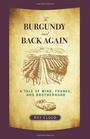 Book Cover for TO BURGUNDY AND BACK AGAIN