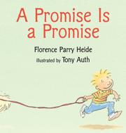 Cover art for A PROMISE IS A PROMISE