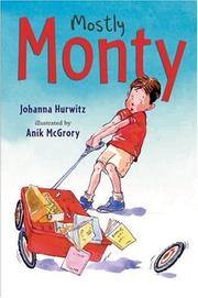 Cover art for MOSTLY MONTY
