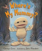 Cover art for WHERE'S MY MUMMY?