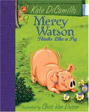 Cover art for MERCY WATSON THINKS LIKE A PIG
