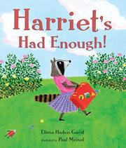 Cover art for HARRIET'S HAD ENOUGH!
