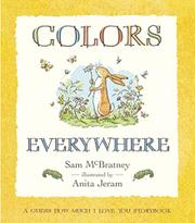 COLORS EVERYWHERE by Sam McBratney