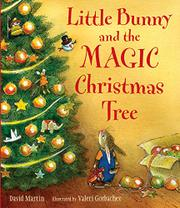 Book Cover for LITTLE BUNNY AND THE MAGIC CHRISTMAS TREE