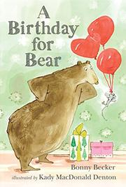 Cover art for A BIRTHDAY FOR BEAR