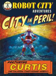 Cover art for CITY IN PERIL!