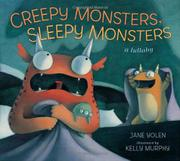 Cover art for CREEPY MONSTERS, SLEEPY MONSTERS