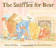 Cover art for THE SNIFFLES FOR BEAR