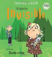 Cover art for SLIGHTLY INVISIBLE