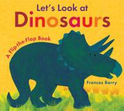 Cover art for LET'S LOOK AT DINOSAURS