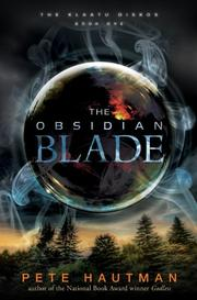 Book Cover for THE OBSIDIAN BLADE