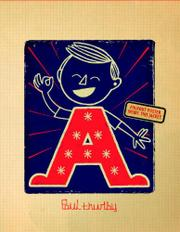Cover art for PAUL THURLBY'S ALPHABET