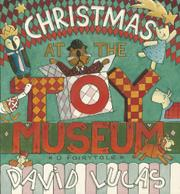 Book Cover for CHRISTMAS AT THE TOY MUSEUM