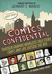 COMICS CONFIDENTIAL by Leonard S. Marcus