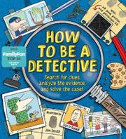 Book Cover for HOW TO BE A DETECTIVE