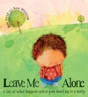 Book Cover for LEAVE ME ALONE