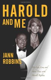 HAROLD AND ME by Jann Robbins