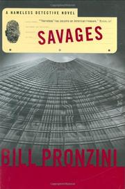 SAVAGES by Bill Pronzini