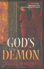 Book Cover for GOD'S DEMON