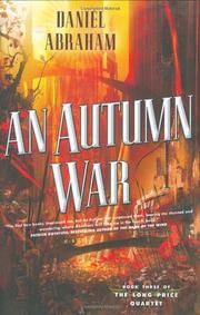 Book Cover for AN AUTUMN WAR