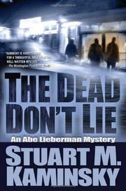 Book Cover for THE DEAD DON'T LIE