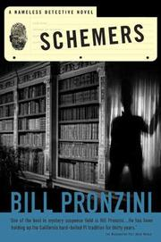 SCHEMERS by Bill Pronzini
