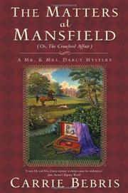 Book Cover for THE MATTERS AT MANSFIELD