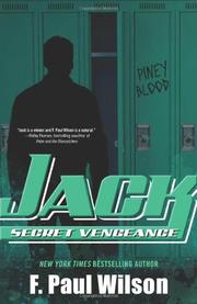 Book Cover for JACK: SECRET VENGEANCE
