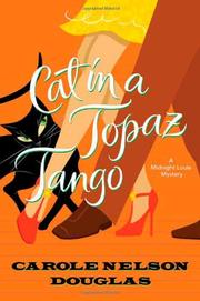 Cover art for CAT IN A TOPAZ TANGO