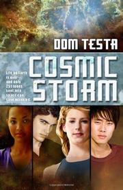 Cover art for COSMIC STORM