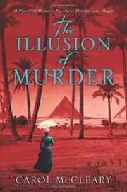 Cover art for THE ILLUSION OF MURDER