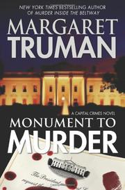 Cover art for MONUMENT TO MURDER