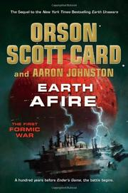 EARTH AFIRE by Orson Scott Card