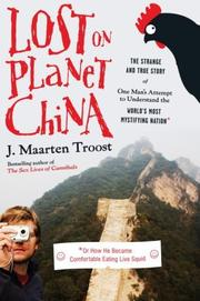 Cover art for LOST ON PLANET CHINA