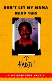 DON'T LET MY MAMA READ THIS by Hadjii