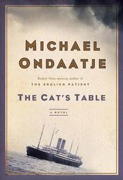 Cover art for THE CAT'S TABLE