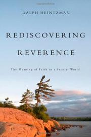 REDISCOVERING REVERENCE by Ralph Heintzman