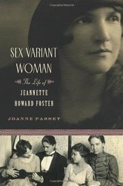 SEX VARIANT WOMAN by Joanne Passet