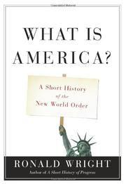 Cover art for WHAT IS AMERICA?