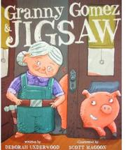 Book Cover for GRANNY GOMEZ & JIGSAW