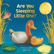 Book Cover for ARE YOU SLEEPING LITTLE ONE